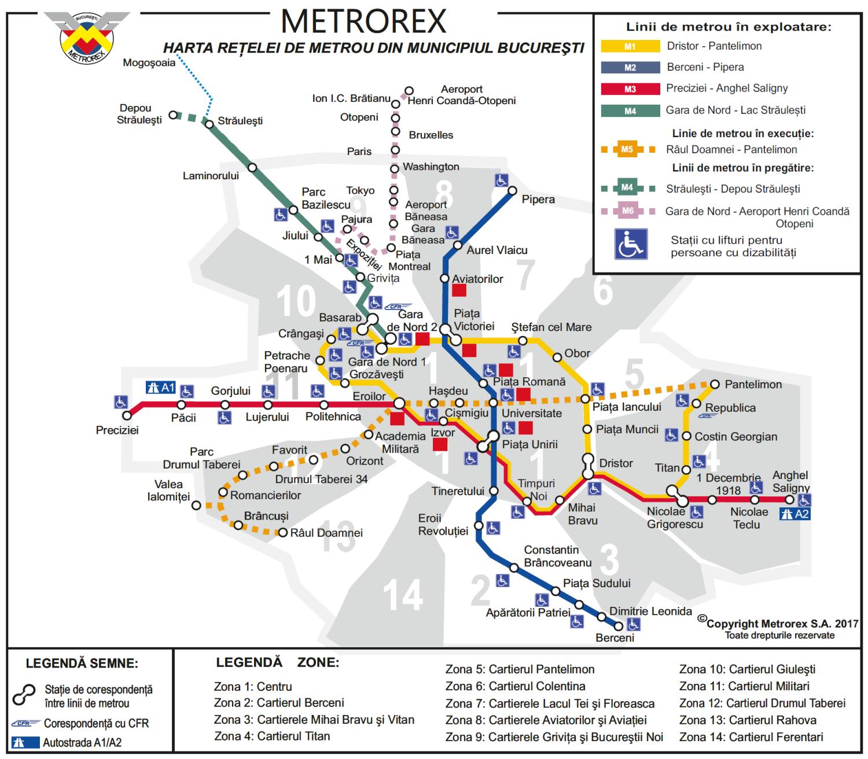 metrou bucuresti harta Harta Metrou Bucuresti metrou bucuresti harta